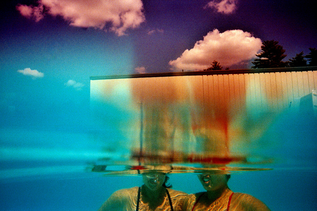 Here Is One Of My Favorite Photographs All Time It Was Taken At Summer Camp With An Underwater Disposable Camera A Happy Mistake